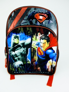 BATMAN V SUPERMAN LARGE BACKPACK