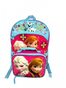 FROZEN-LARGE BACKPACK W/ LUNCH