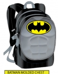 "BATMAN MOLDED CHECT 16"" BACKPACK"