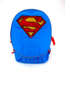 SUPERMAN-MOLDED CHEST LARGE BACKPACK
